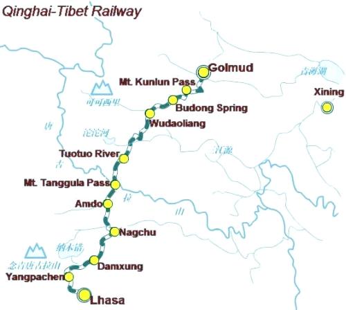 Travel train journey technology qinghai tibet express shangha